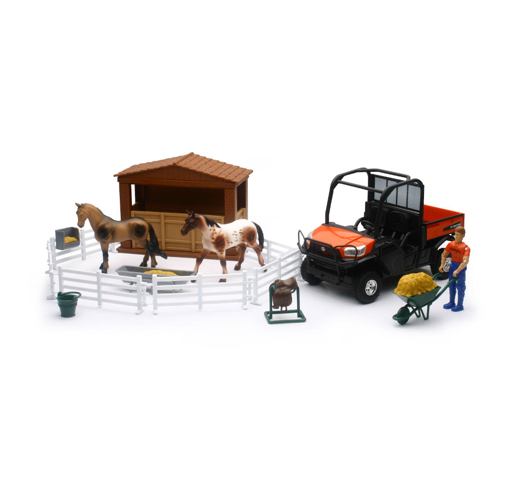 Kubota RTV with Horses Set