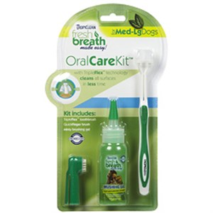 Fresh Breath Oral Care Kit For Medium and Large Dog