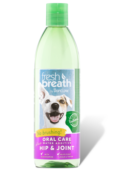 Fresh Breath Oral Care Water Additive Plus Hip and Joint 16 oz