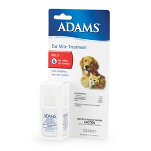 Adams Ear Mite Treatment Cats or Dogs